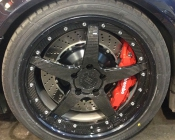 dan m3 custom wheel and big brake -10
